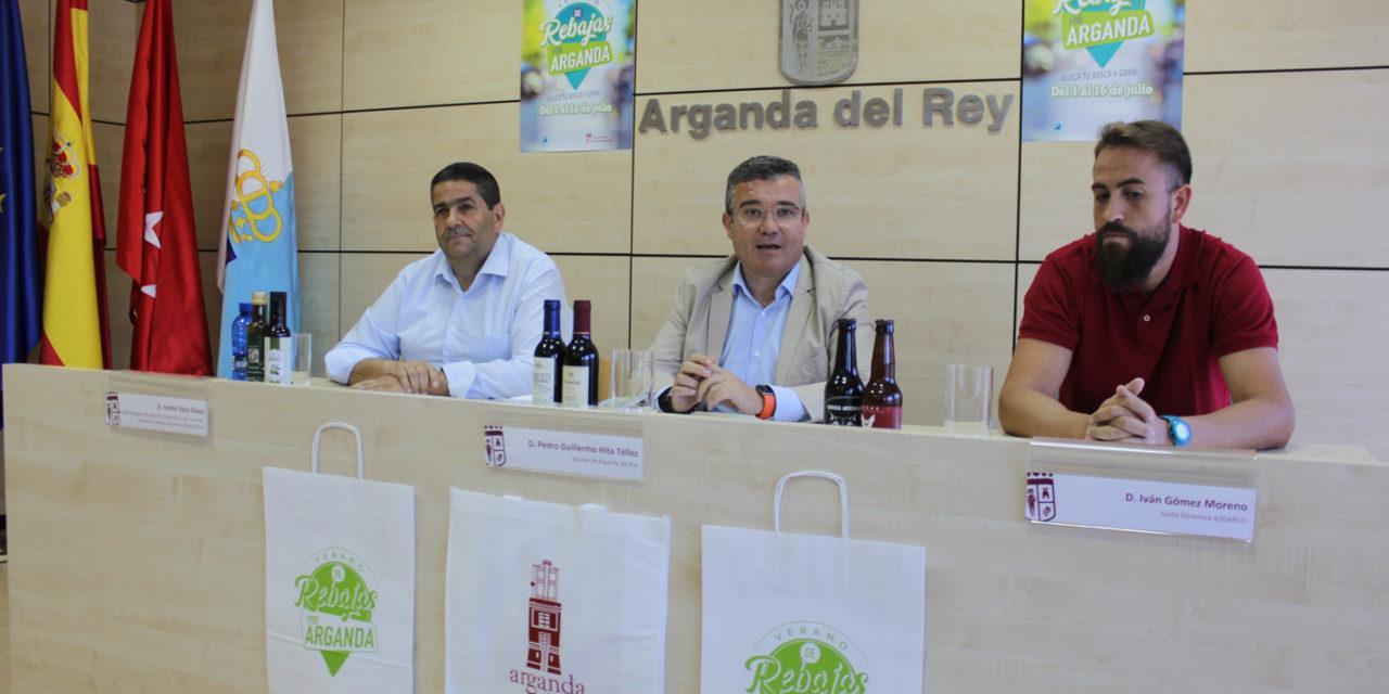 Un centenar de pequeños establecimientos de Arganda se unen para lanzar una campaña alternativa de rebajas