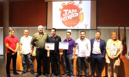 """Pintxoteca Cobos, ganador de la ruta gastronómica de Rivas, """"Tapas de Libro"""","""