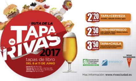 """Rivas presenta su II Ruta de la Tapa, un viaje gastronómico repleto de """"sabores literarios"""""""