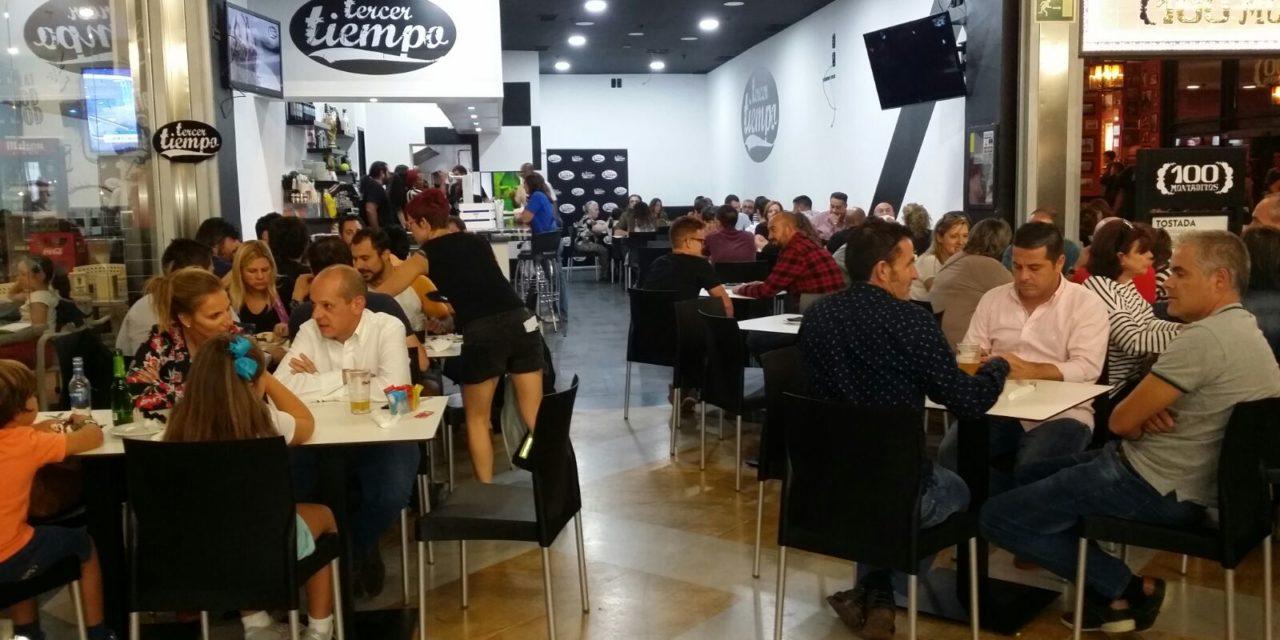 El restaurante Tercer Tiempo celebra por todo lo alto su fiesta de presentación