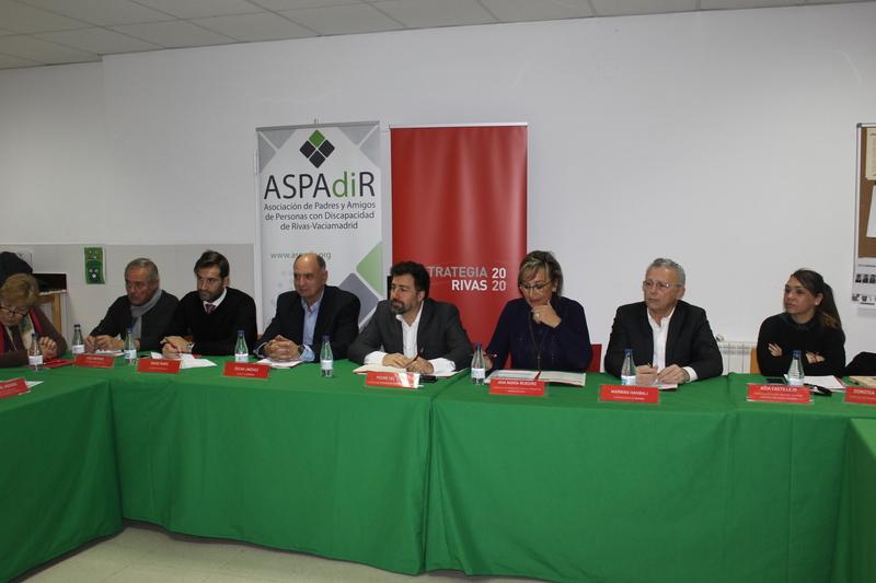 Representantes de ASEARCO asisten a la jornada Empleo y Discapacidad organizada por ASPADIR y el Ayuntamiento de Rivas
