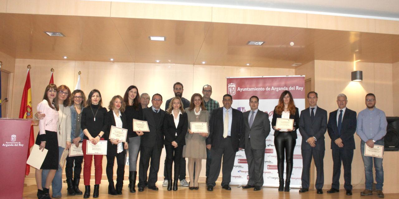 El V Certamen 'Arganda Emprende' otorga cinco premios de 2.000 euros a las cinco mejores ideas de negocio