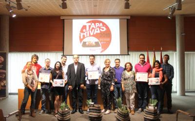 """Una Torrija de tomate con 'bakalao' confitado, de Pintxoteca Cobos, primer premio de la ruta gastronómica ripense """"Tapas Musicales"""""""