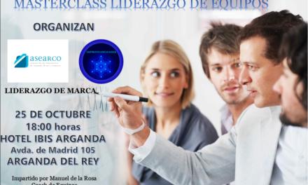Podcast de la entrevista a Manuel de la Rosa, coach de la 'Master Class Liderazgo de Equipos'