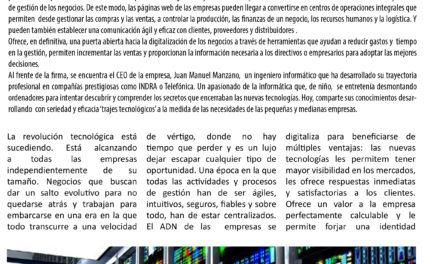 Reportaje corporativo de la firma tecnológica ATICUM