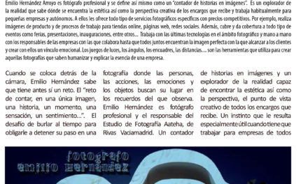 REPORTAJE CORPORATIVO SOBRE ESTUDIO FOTOGRÁFICO AATEHA (Empresa que mantiene convenio de colaboración con ASEARCO)