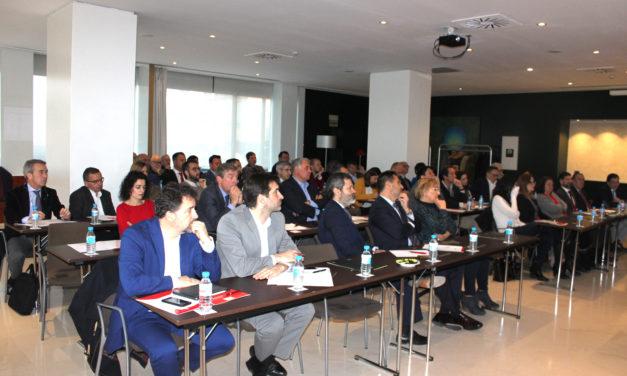 """El II Encuentro empresarial del """"Círculo Económico de Rivas-AB"""" reunió a empresas promotoras y constructoras"""