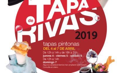 """Cuarenta y tres bares y restaurantes participarán en la próxima ruta gastronómica de Rivas, """"Tapas Pintonas"""""""