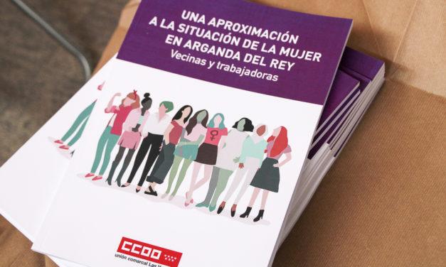 """Presentado el estudio de Comisiones Obreras, """"Una aproximación a la Mujer en Arganda del Rey"""""""