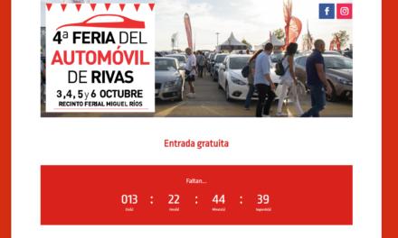 La IV Feria del Automóvil de Rivas acogerá un amplio programa de actividades artísticas y de ocio para todas las edades