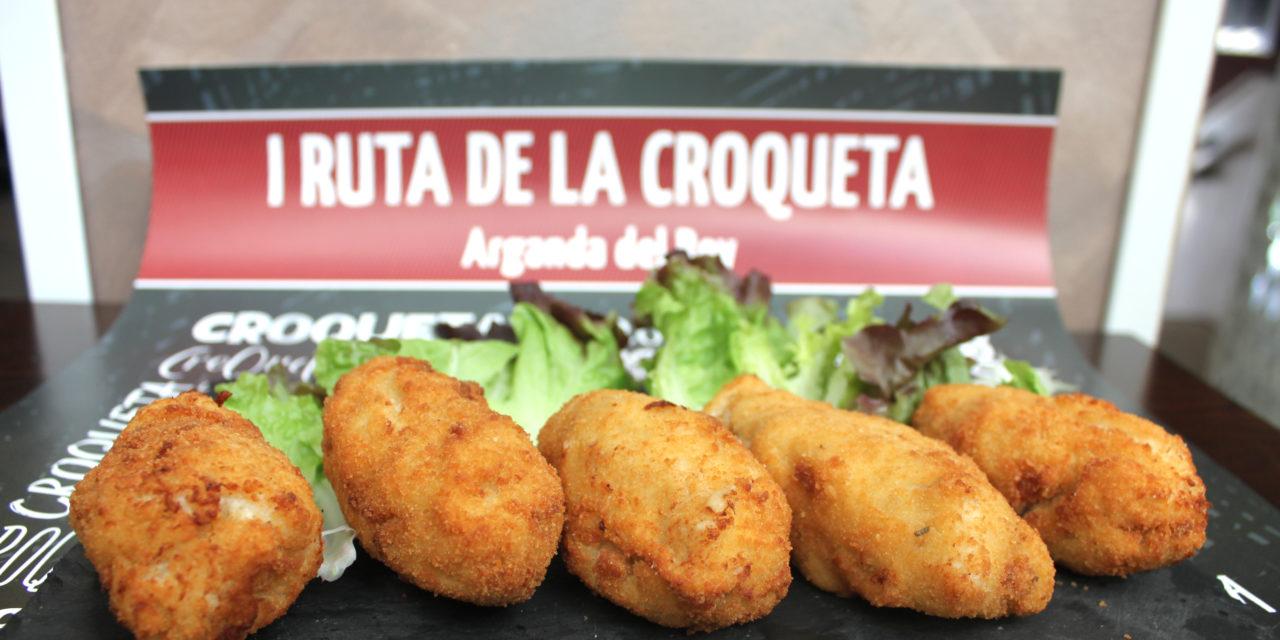 Arganda del Rey inicia una nueva aventura gastronómica con su I Ruta de la Croqueta