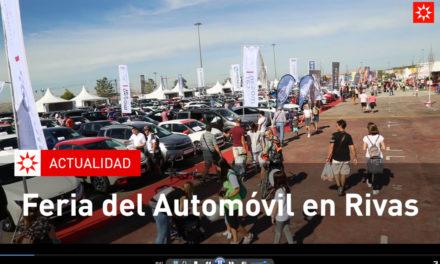 (VÍDEO): Así fue la IV Feria del Automóvil de Rivas Vaciamadrid