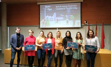 Rivas entrega los premios de su Campaña de Navidad 2019, en cuyas actividades participaron más de 5.500 ripenses