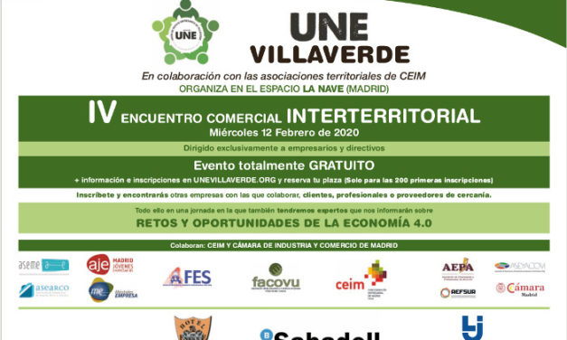 ¿Le gustaría hacer negocios con empresas de toda región?: participe en el IV Encuentro comercial interterritorial