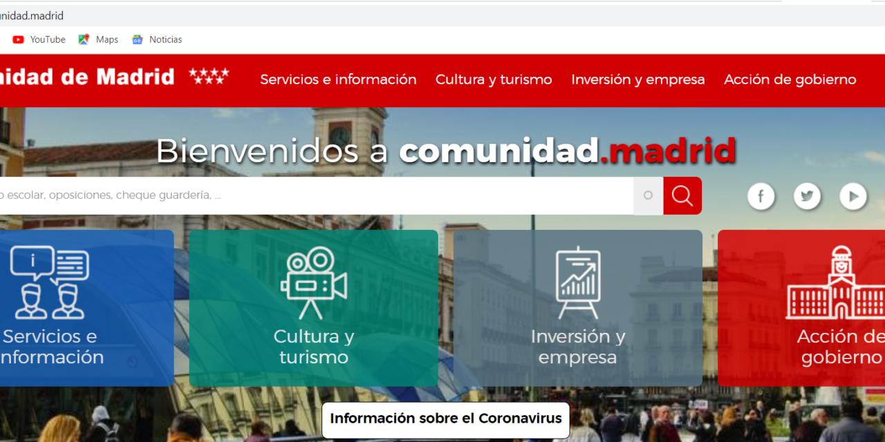 La Comunidad de Madrid concederá ayudas directas de hasta 3.200 euros para autónomos