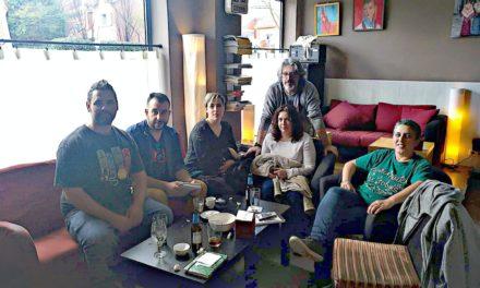 Reunión entre representantes de comerciantes de Rivas y de ASEARCO con miembros del sindicato de la Policía Local CPPM