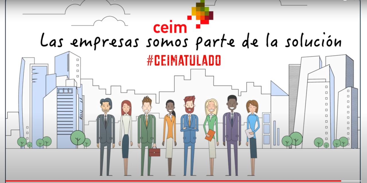 Vídeo: «Las empresas somos parte de la solución» (realizado por CEIM)