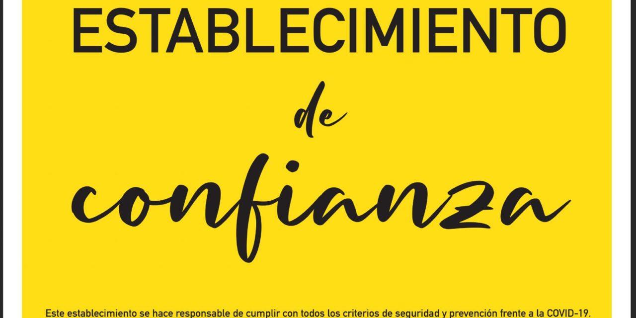 Rivas  pone en marcha la campaña municipal 'Establecimiento de Confianza' ante la reapertura del comercio y la hostelería