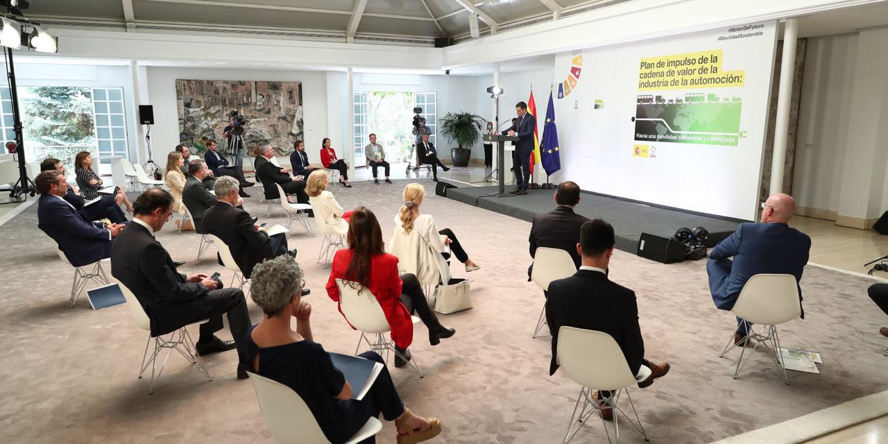 Presentado el Plan para el Impulso de la Industria de la Automoción