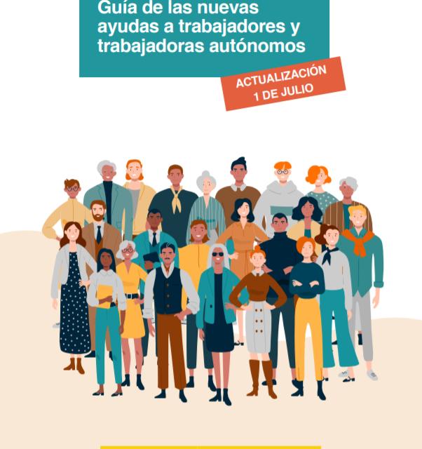 Publicada la última actualización de la guía oficial de Ayudas para autónomos que incluye las que se pusieron en marcha el 1 de julio