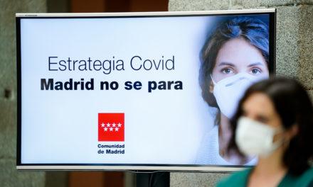 La Comunidad de Madrid anuncia el uso obligatorio de mascarillas y nuevos límites en hostelería y ocio nocturno