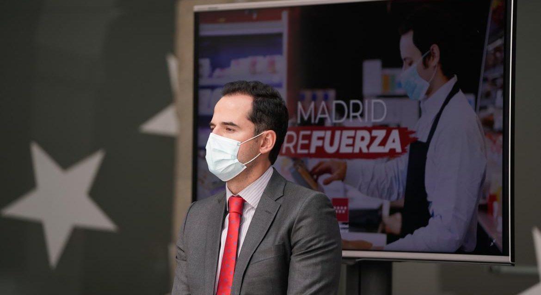 La Comunidad de Madrid anuncia que destinará 30 millones en ayudas para comercios, pymes y empresas industriales afectados por la crisis del COVID-19