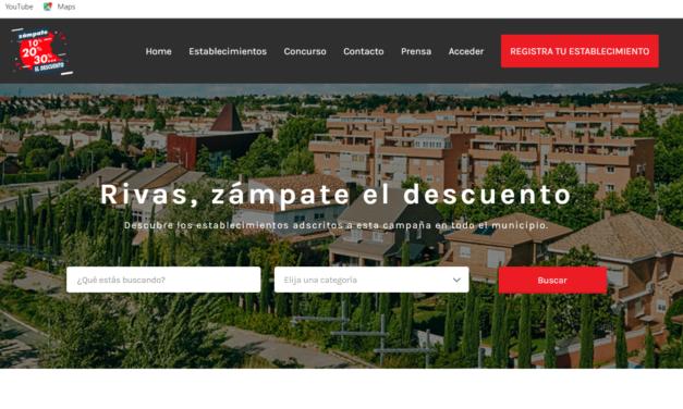 """Comienza en Rivas """"Zámpate el descuento"""", una campaña digital donde comercios y restaurantes lanzan ofertas y menús especiales"""