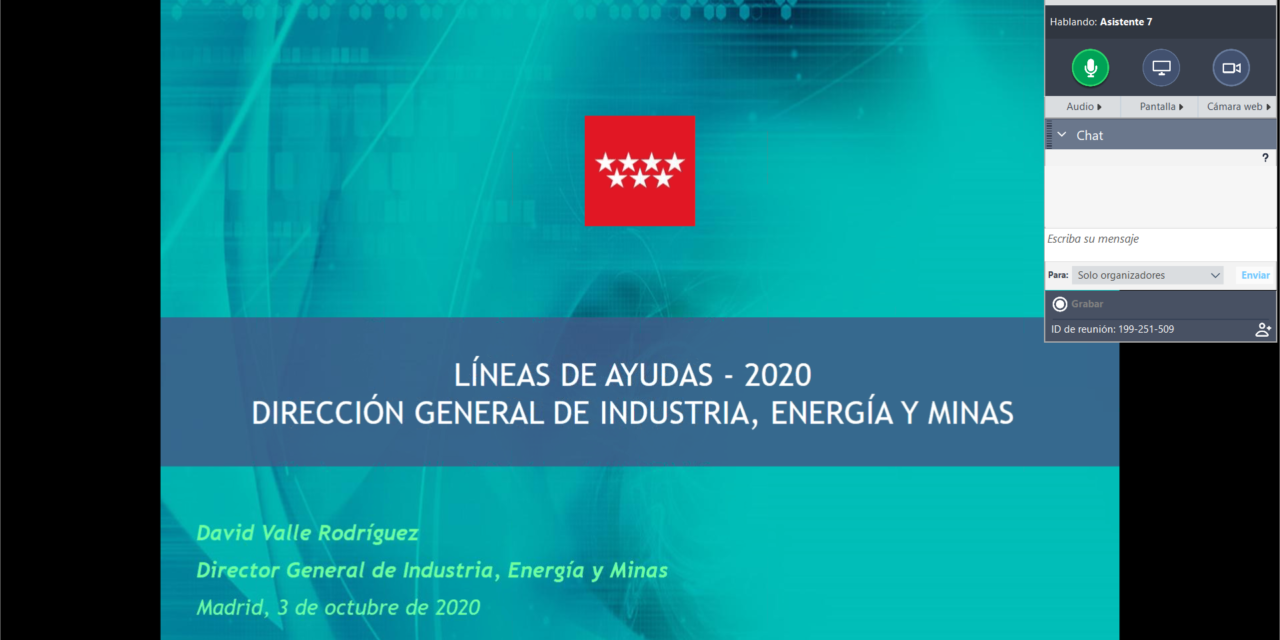 Empresas asociadas a ASEARCO recibieron información directa de las ayudas vigentes de la Comunidad de Madrid