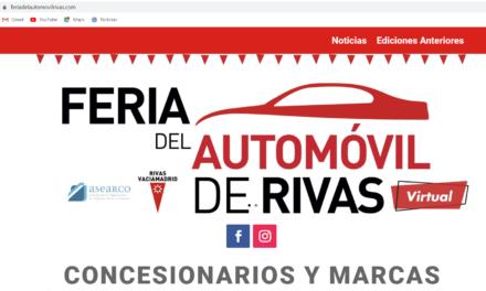 Este domingo arranca la Feria del Automóvil de Rivas en una plataforma digital y de la mano de grandes ofertas de 22 concesionarios
