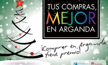 """El comercio ya puede apuntarse a la campaña promocional navideña """"Tus compras, mejor en Arganda"""" y participar en el Concurso de Escaparates"""