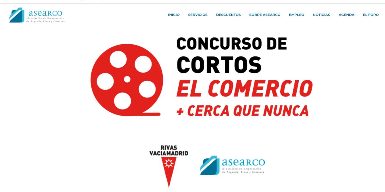 """Estreno del concurso de vídeos """"El comercio, más cerca que nunca"""": las vecinas y los vecinos de Rivas ya pueden seleccionar las mejores creaciones audiovisuales"""