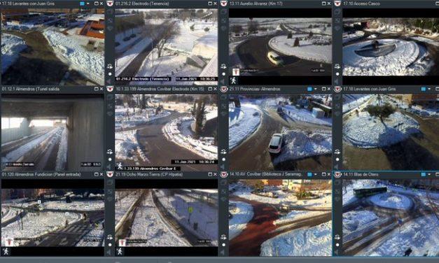 Temporal Filomena: transportes, mapa con las calles despejadas de nieve en Rivas y actuaciones en el Polígono de Arganda