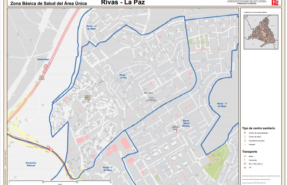 La Zona Básica de Salud de La Paz, en Rivas, y Campo Real tendrán restricciones de movilidad durante 14 días