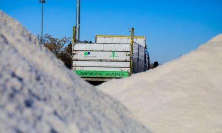 Puntos de recogida de sal en Arganda y Rivas