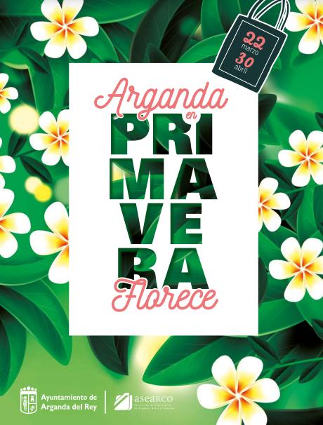 Los premios florecen en la campaña de primavera del pequeño comercio de Arganda