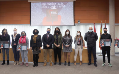 Broche final de la Campaña de Navidad de Rivas: entregados los premios del Concurso de Escaparatismo 2020