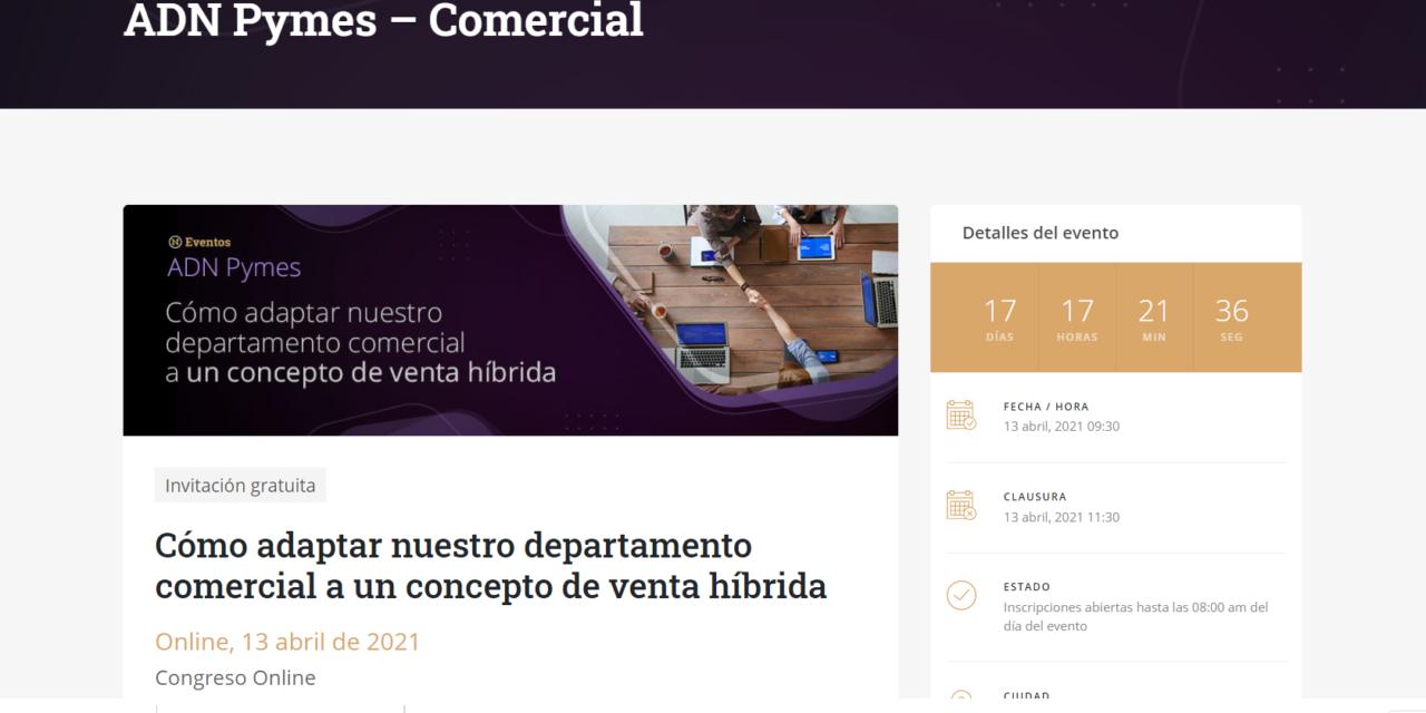 Nueva videoconferencia para reunir las mejores prácticas de la venta online y la digital