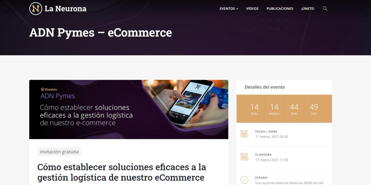 Cómo establecer soluciones eficaces a la gestión logística del comercio electrónico: próximo webinario para asociados a ASEARCO