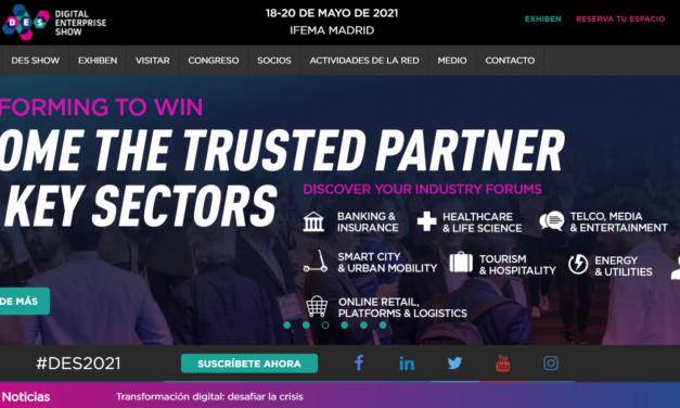 El evento líder de digitalización para empresas se volverá a celebrar en mayo y en IFEMA