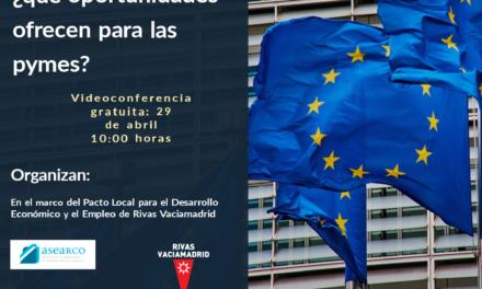 """VIDEOCONFERENCIA: """"FONDOS EUROPEOS para la recuperación: ¿qué oportunidades ofrecen para las pymes?"""""""
