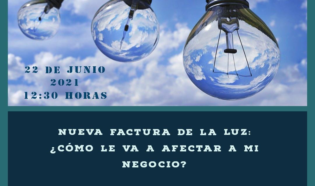 """""""Nueva factura de la luz: ¿cómo le va a afectar a mi negocio?"""": próxima videoconferencia de ASEARCO"""
