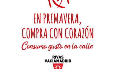 El Ayuntamiento de Rivas lanza una campaña de primavera para fomentar el consumo en el comercio y la hostelería