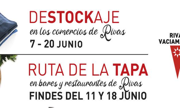 Disfruta de las ventajas que ofrecen las campañas promocionales para el comercio y la hostelería de Rivas Vaciamadrid