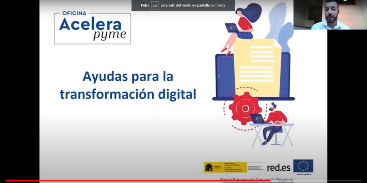 GRABACIÓN: Esta es la videoconferencia que da a conocer las AYUDAS para digitalizar los negocios de pymes y autónomos
