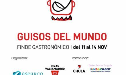 Cuarenta bares y restaurantes de Rivas ofrecerán, del 11 al 14 de noviembre, deliciosos  guisos que 'dan la vuelta al mundo'