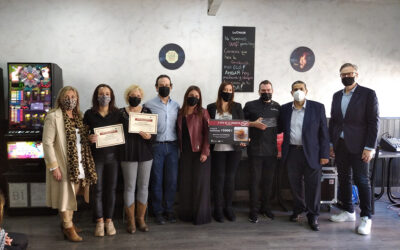 Una 'Croqueta de carrillera Ibérica sobre patata trufada', del Restaurante Brasa D'Or La Choco, vencedora de ruta gastronómica celebrada en octubre en Arganda